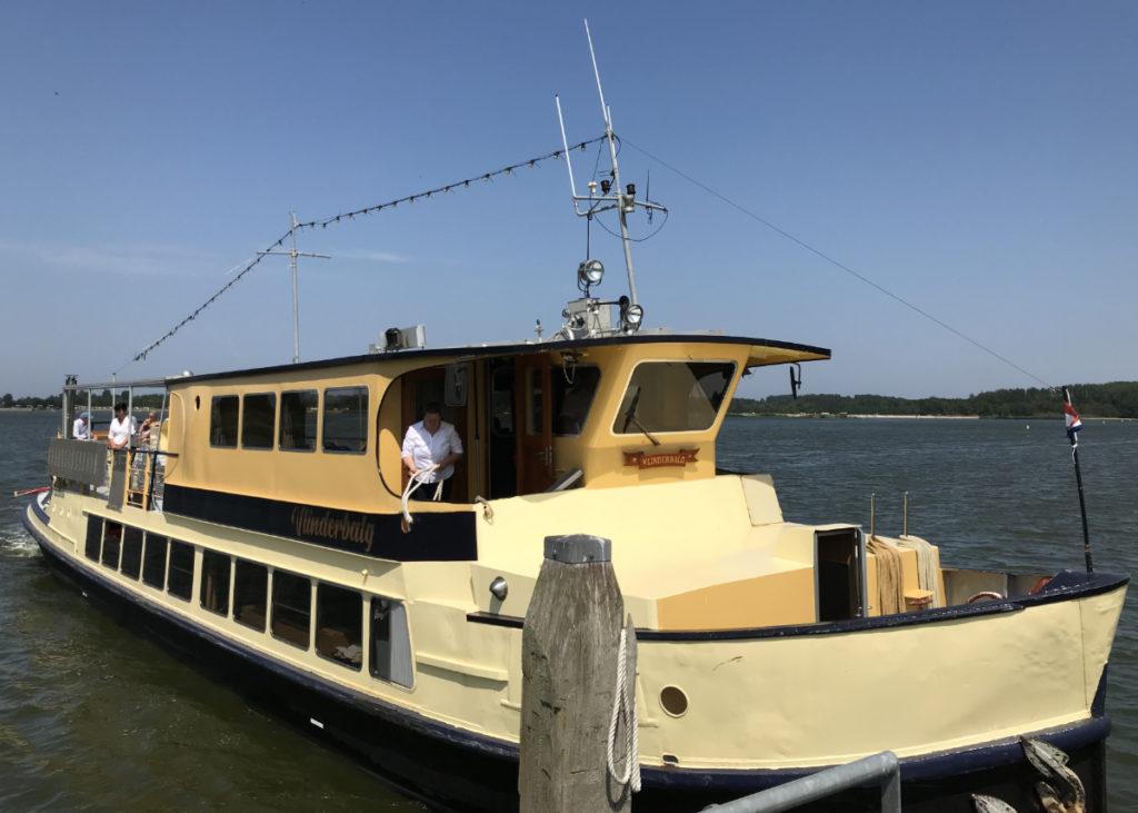 Ausflugsboot Lauwersmeer