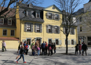 Schiller Haus in Weimar