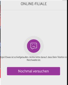 Vodafone Online Filiale Erreichbarkeit